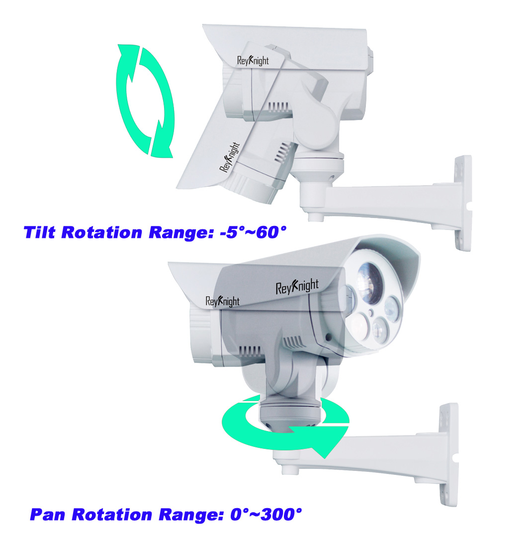 HD 1080P 10X Zoom Mini AHD PTZ Bullet Camera